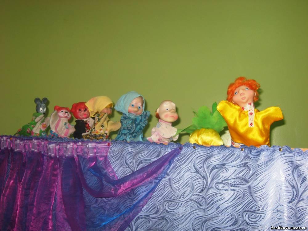 Сценарий пьесы для кукольного театра